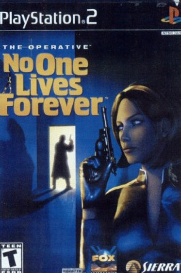 NO ONE LIVES FOREVER (Playstation 2 game)