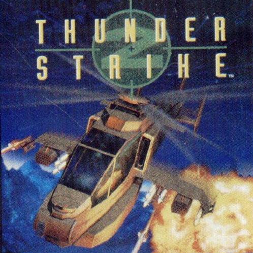 Thunder Strike (Playstation 1 Game)