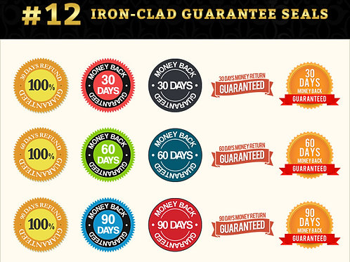 Module 12 - Iron Clad Guarantee Seals