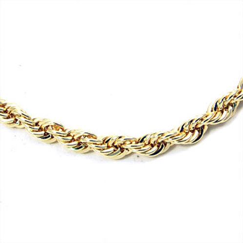 30IN 5MM ROPE CHAIN-GOLD