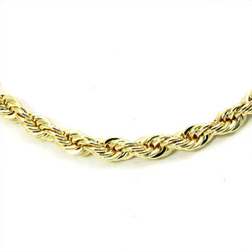 36IN 8MM ROPE CHAIN