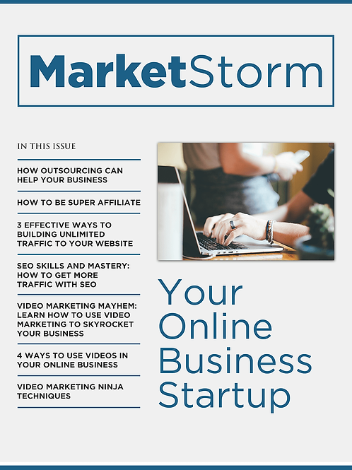 YOUR ONLINE BUSINESS STARTUP