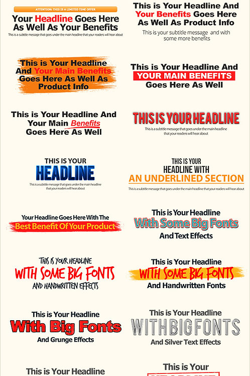 Module 1 - High Impact Headlines.