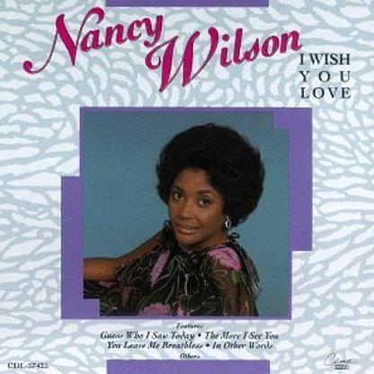 Nancy Wilson I wish you love