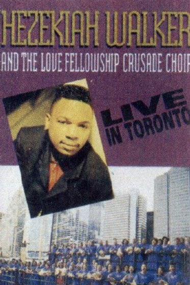 Hezekiah Walker live in Toronto-CASSETTE