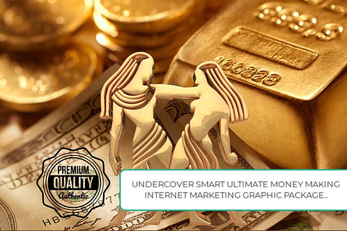 UNDERCOVER SMART ULTIMATE MONEY MAKER LEADER OF THE PACK GRAPHIC PACKAGE