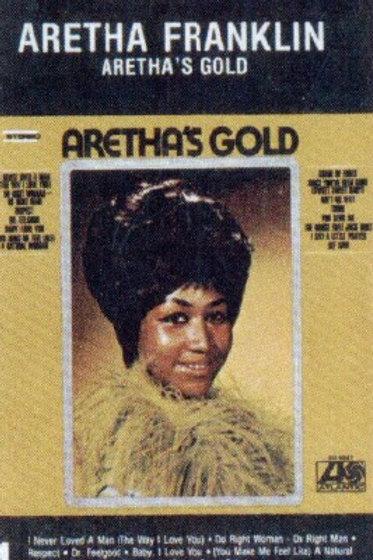 Aretha Franklin Aretha's Gold-CASSETTE