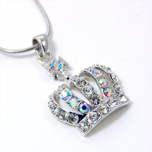 CRYSTAL CROWN NECKLACE