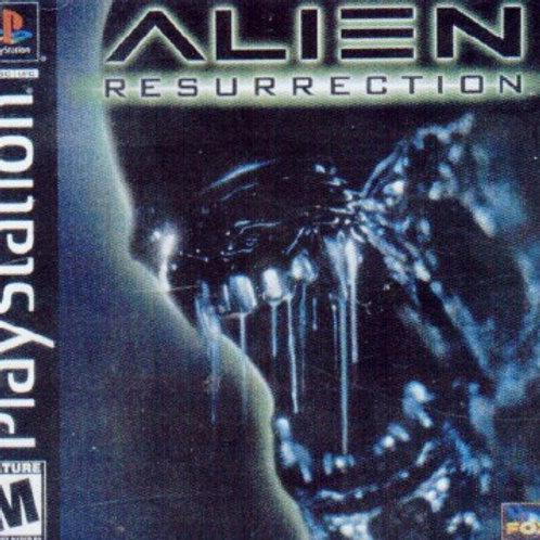 ALIEN RESURRECTION (Playstation 1 game)