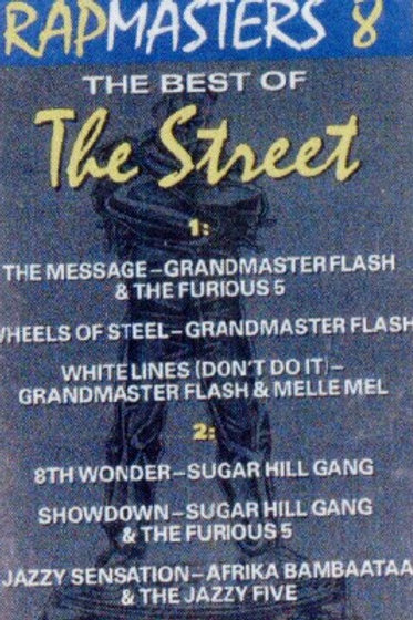 Rapmasters 8 (The Best of The Street)-CASSETTE