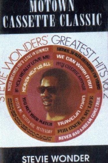 Stevie Wonder's Greatest hits (Volume2)-CASSETTE