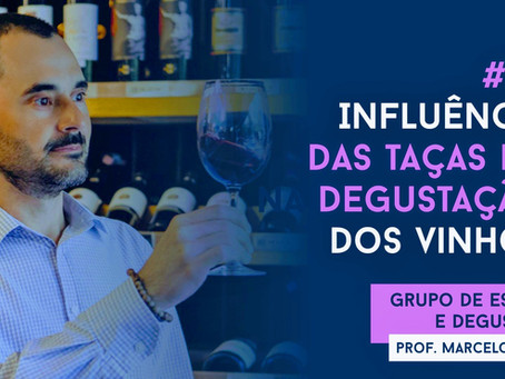 Podcast aula 8 - A influência das taças na degustação dos vinhos