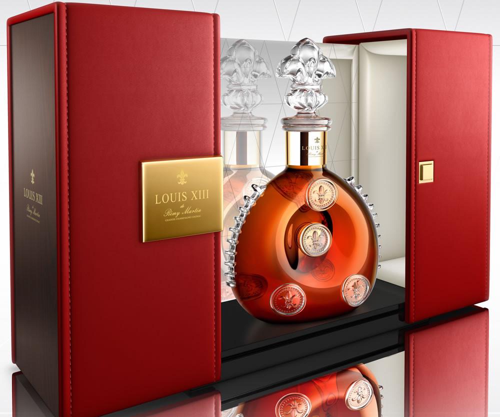 O Louis XIII é conhecido como o rei dos cognacs