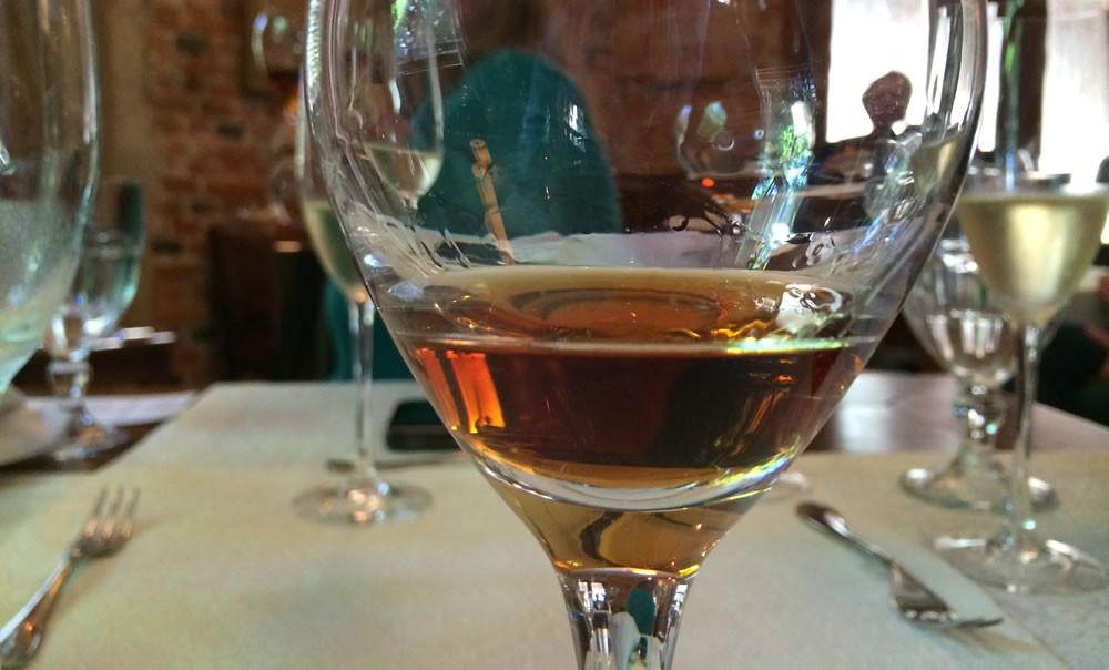 A cor âmbar é uma das distinções deste cognac
