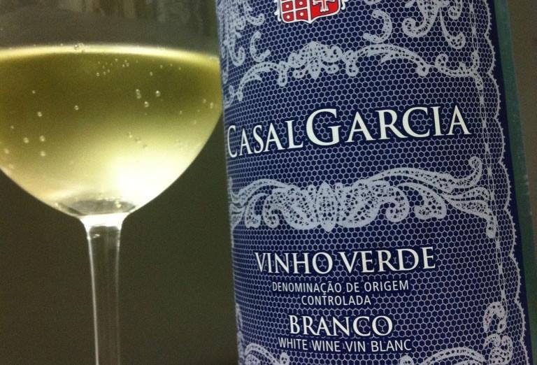 Um dos rótulos do Vinho Verde com Denominação de Origem