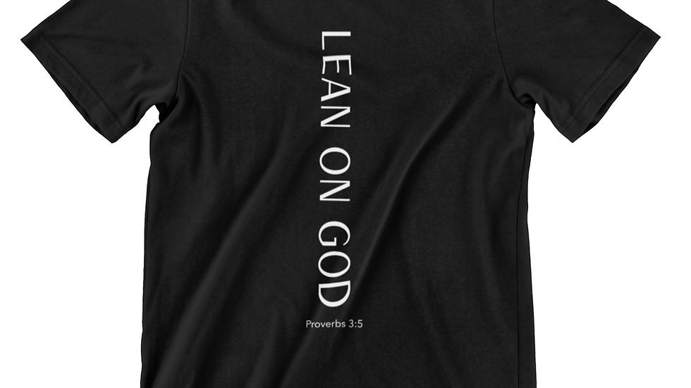 LEAN ON GOD T-SHIRT Unisex)