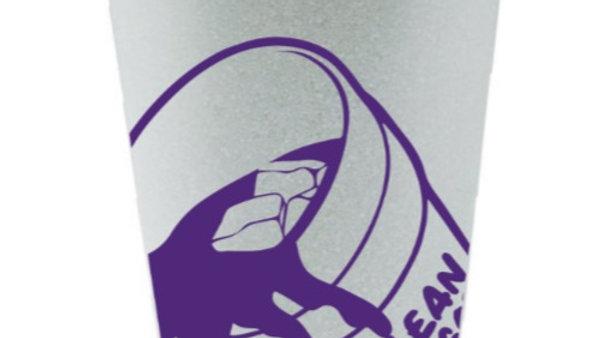 8pk White Styrofoam Cups