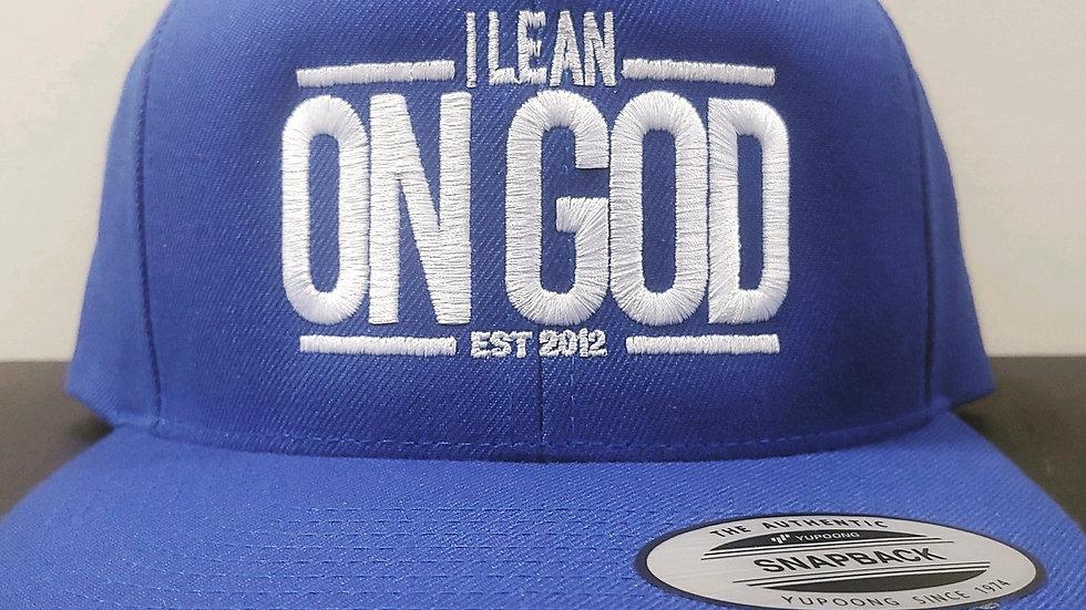I LEAN ON GOD - SnapBack