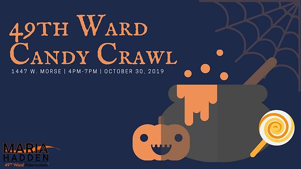 49th Ward Candy Crawl - Alderwoman Hadde