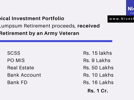 Typical Investment Portfolio of an Army Veteran - And what's wrong with it