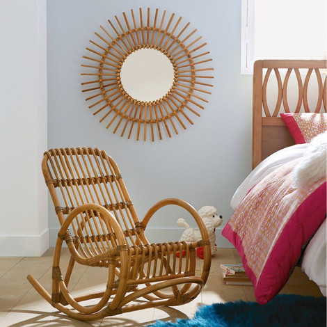 Rattan Rocking Chair And Mirror. SO Sabay Design Rattan Furniture. Awesome Ideas