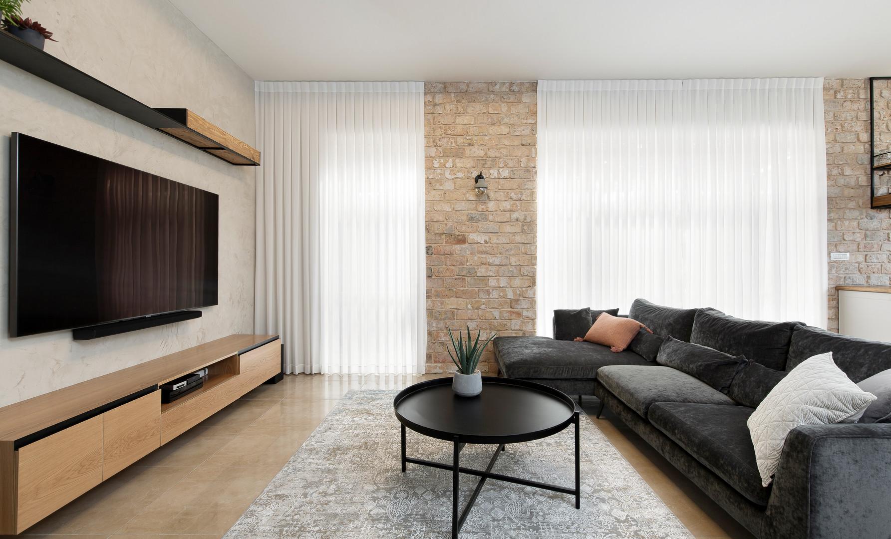 חדר מגורים מעוצב