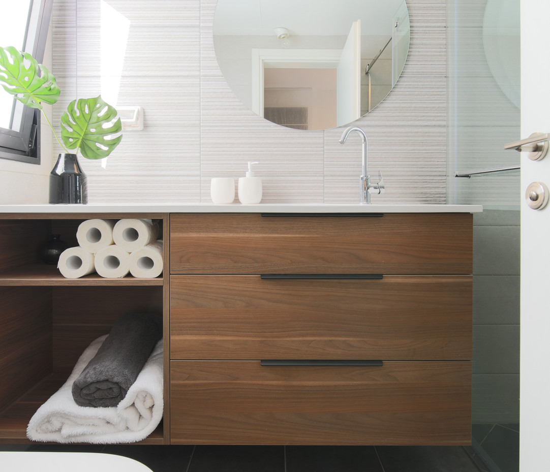 עיצוב ארון אמבטיה 2