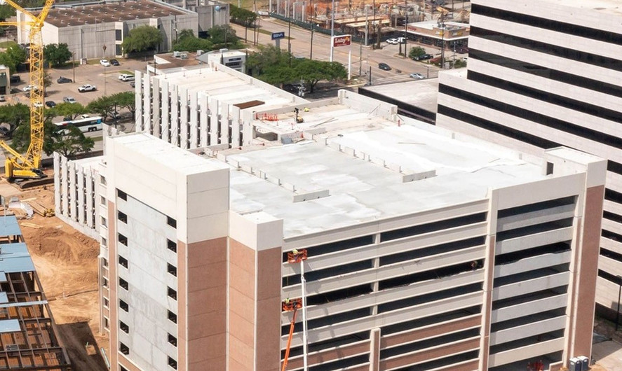HCA Woman's Hospital of Texas Parking Structure