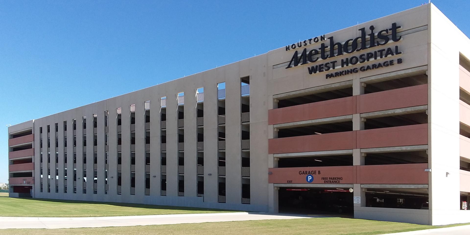 Houston Methodist Hospital Parking Garage