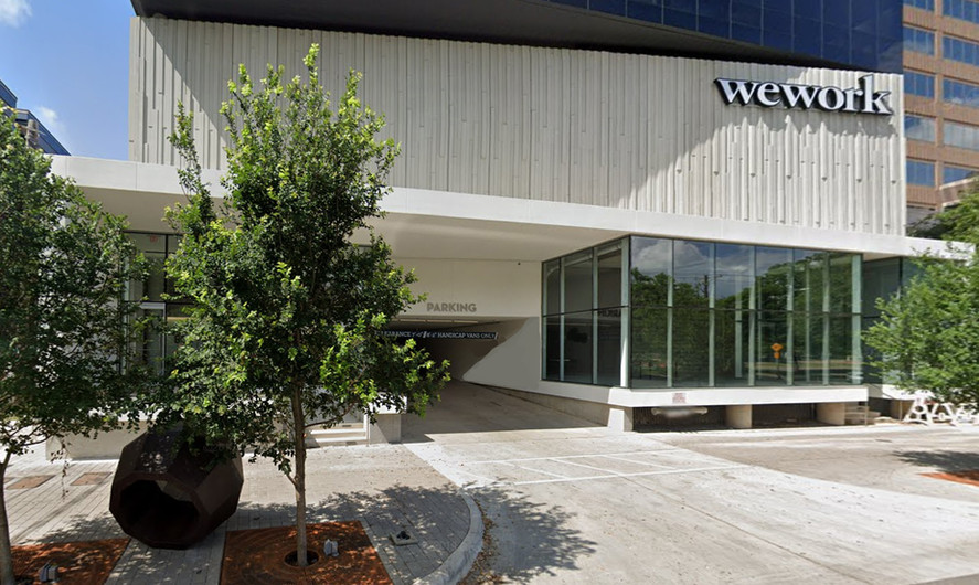 wework Office Building Architectural Cladding