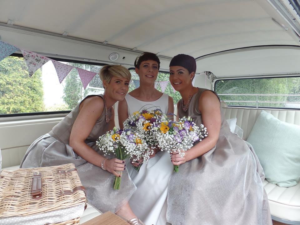 Jen and bridemaids