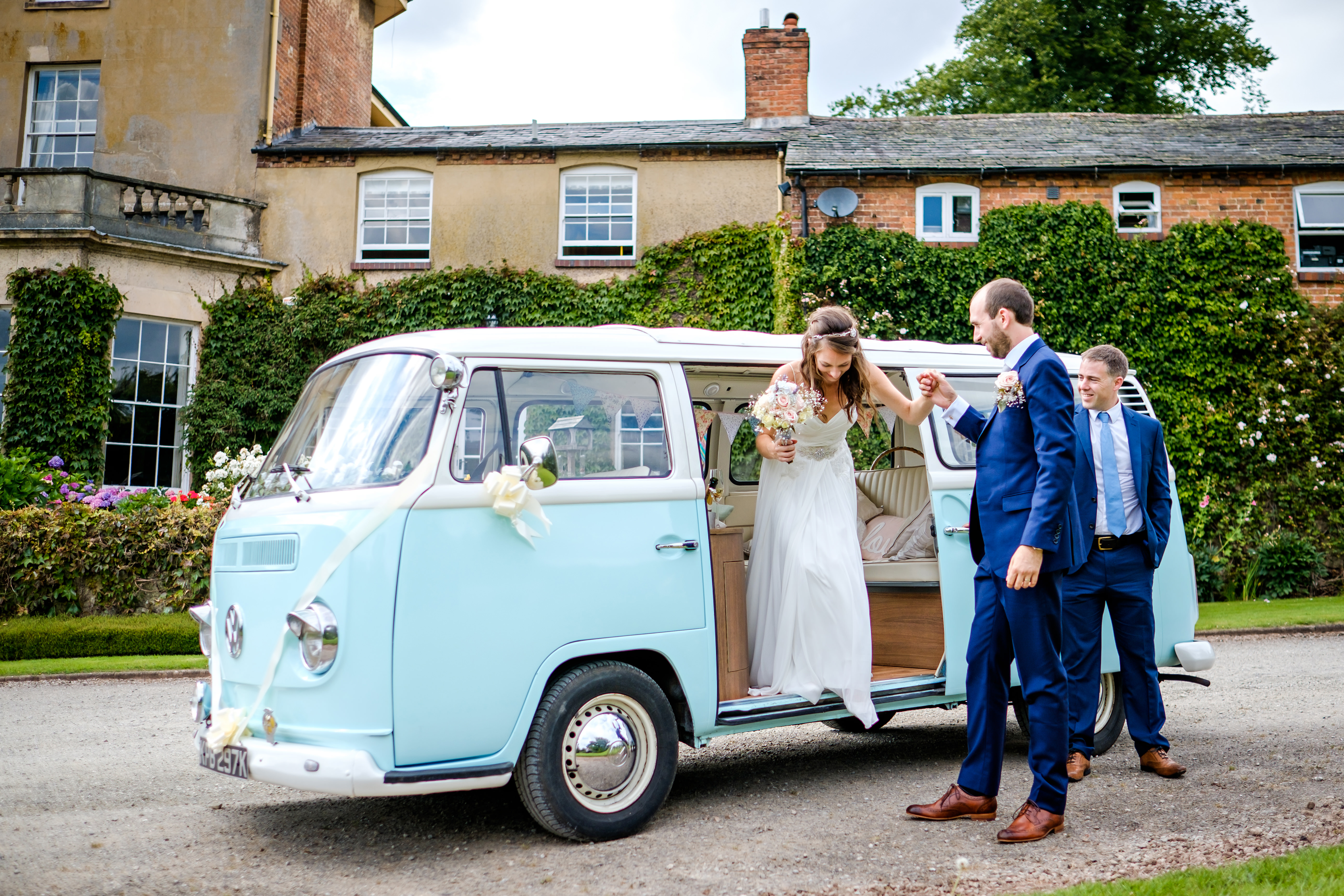 Vintage VW wedding hire