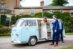 Vintage VW wedding hire