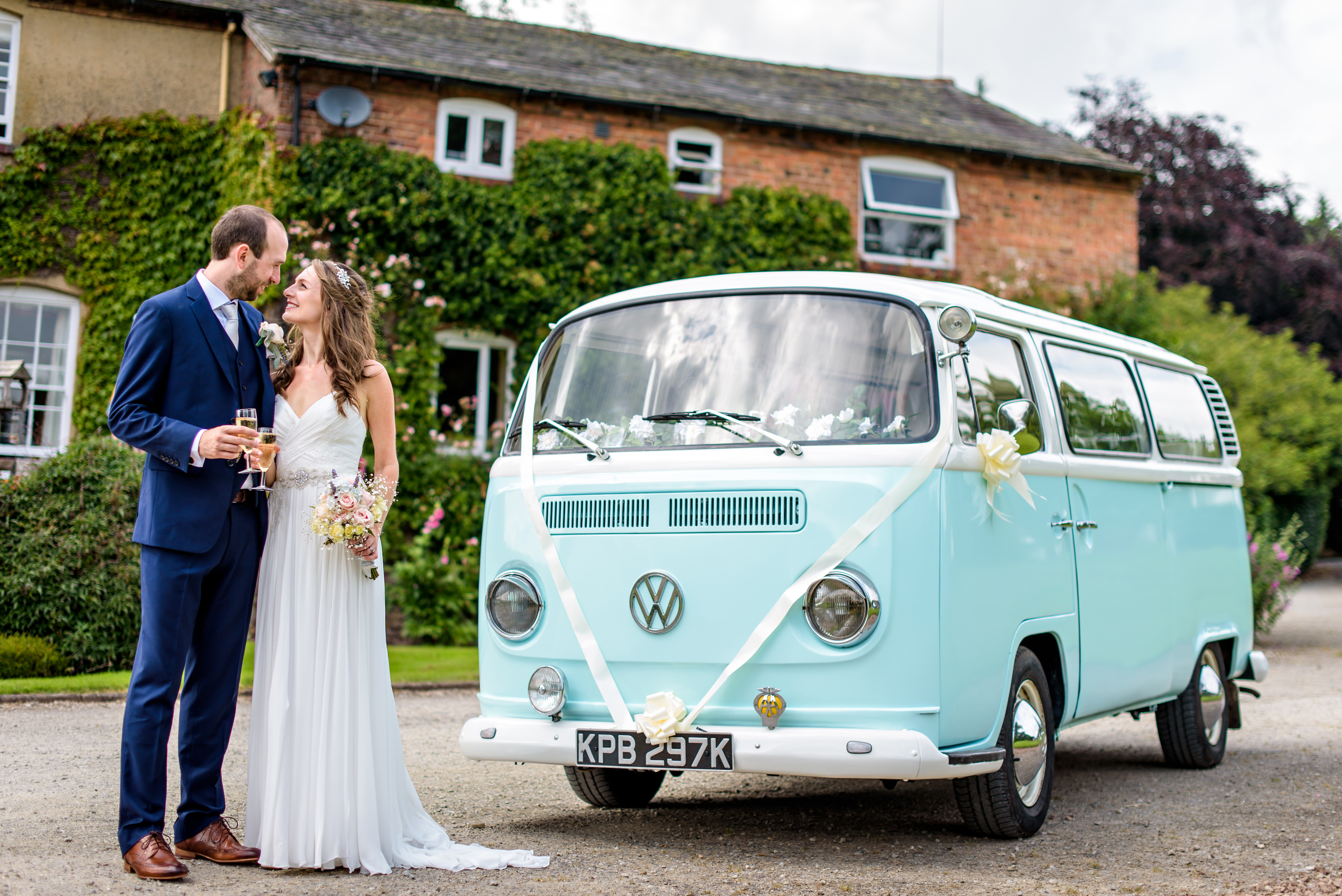 Wedding VW camper hire