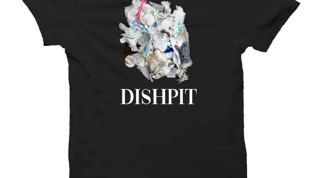 Dishpit Black T-shirt
