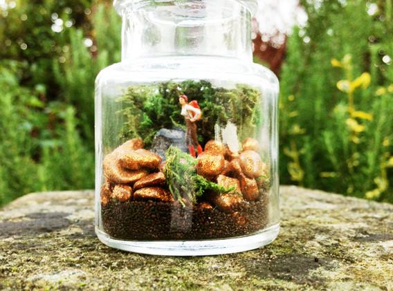 Hiker Ink Jar