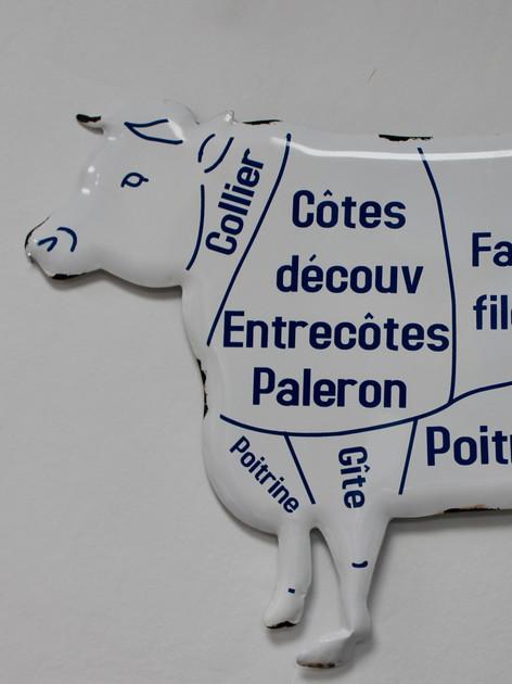 Plaque vache