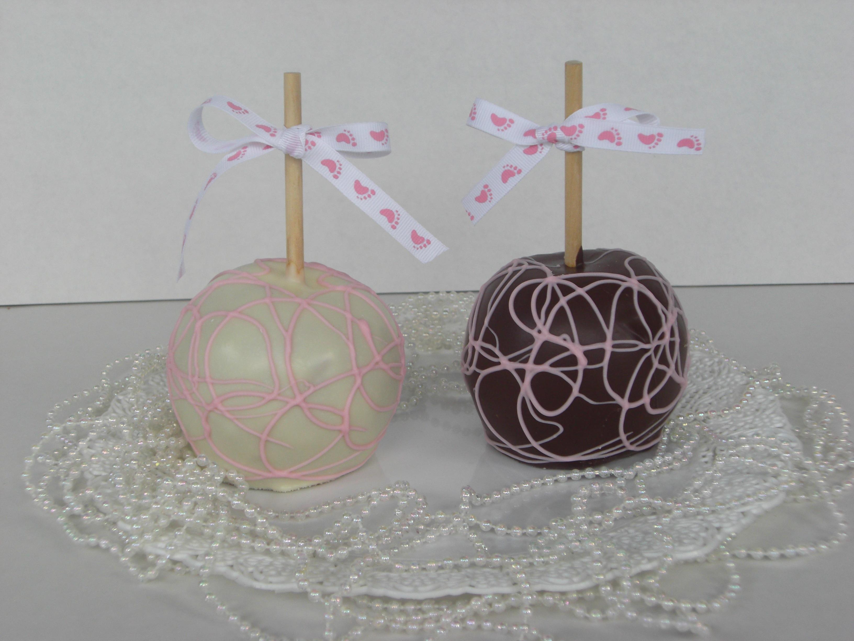 Baby Shower Gourmet Apples