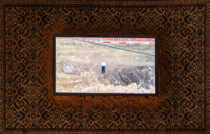 """""""Line in the Sand"""" - Video Installation by Eyal Segal"""
