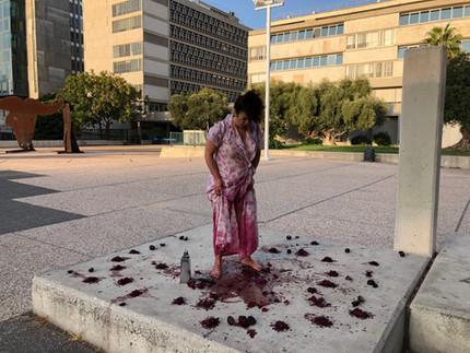 "New Video Release by Moran Asraf  ""Tseva Adom : between Justice and  Display   ExLab Series"