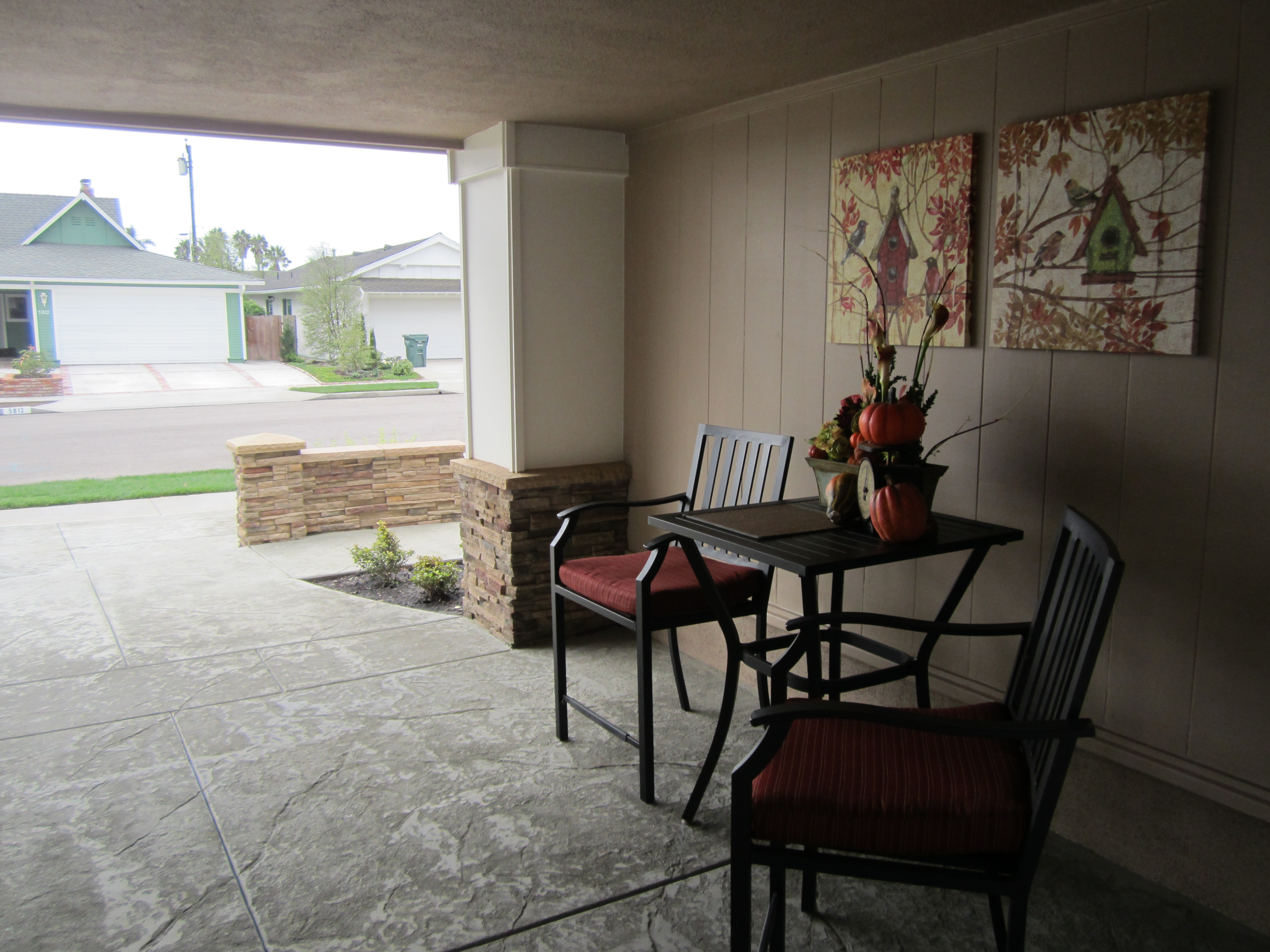 Porch off the Entrance