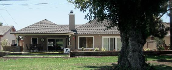 Backyard exterior