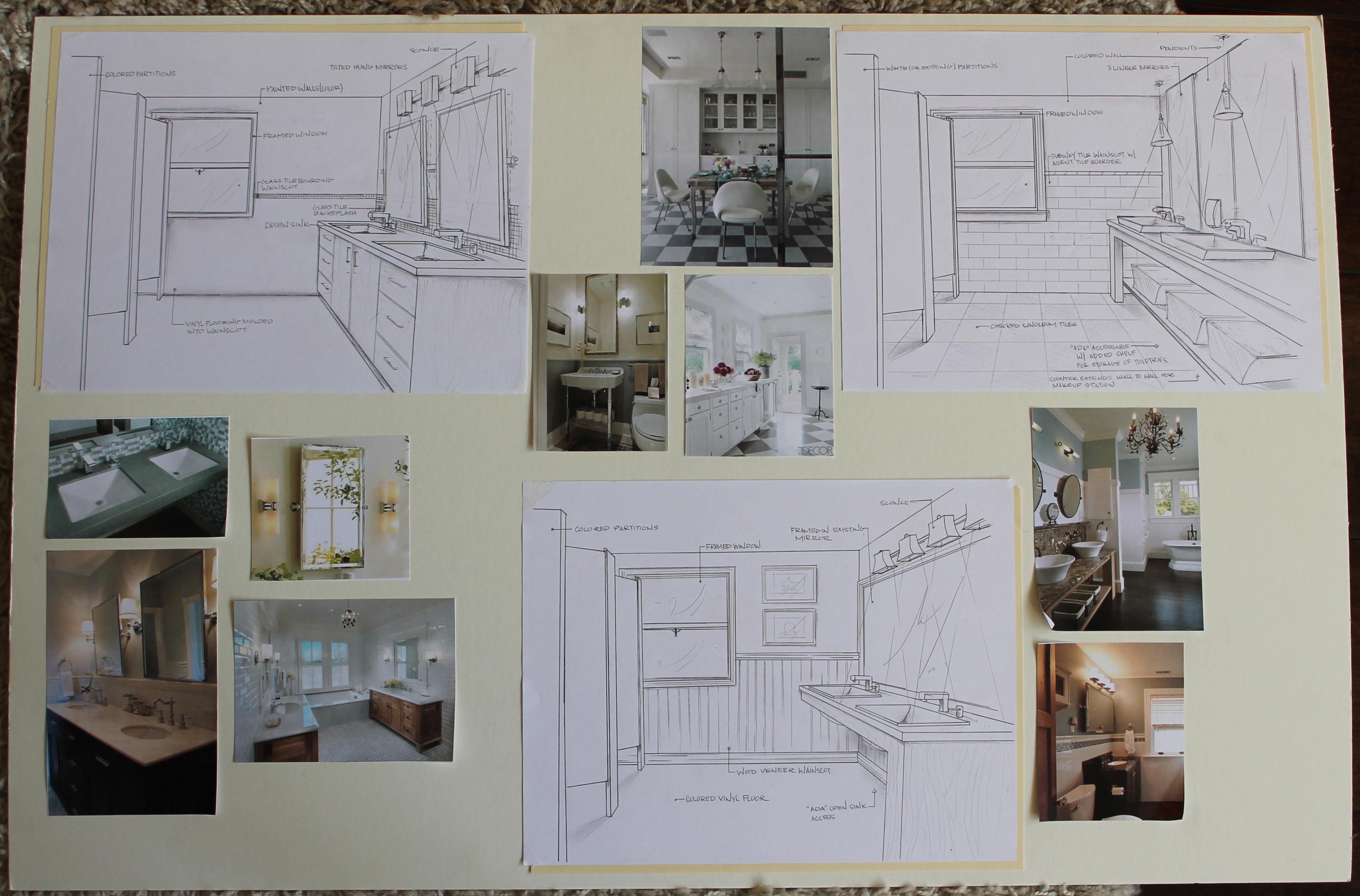 First Conceptual Design Board