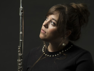 A warm welcome to our new flute teacher/tutor.
