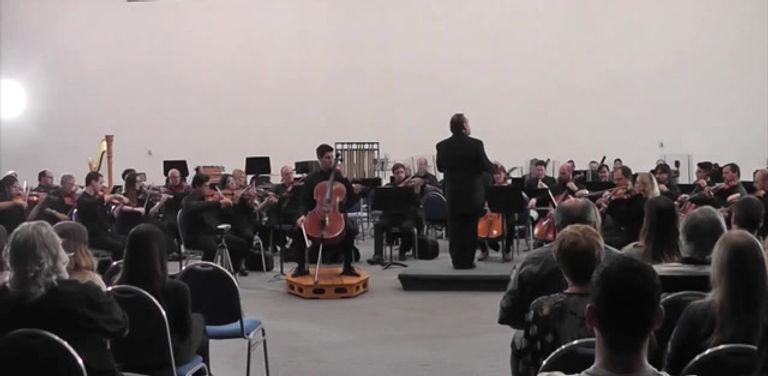 Pablo Bercellini Plays Dvorak