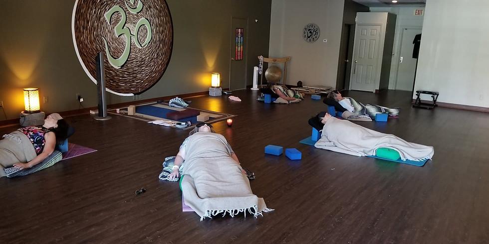 Reiki Infused Restorative Yoga with Jann Baker