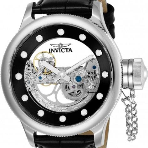"""""""Invicta"""" Russian Diver Silver Dial Ghost Bridge Automatic Exhibition"""