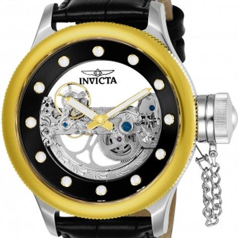 """""""Invicta""""Russian Diver Ghost Bridge Automatic Gold Plated Exhibition"""