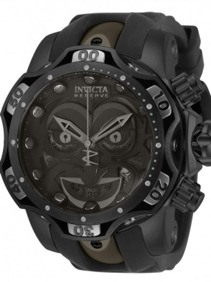 """Invicta"" Reserve Venom DC Comics Joker 1000m Chronograph 52mm Swiss Black"