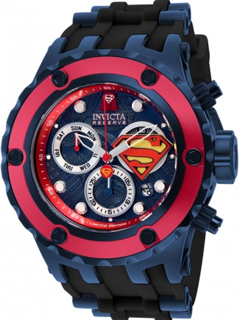 """Invicta"" Limited Edition DC Comic's SUPERMAN Quartz 52mm"
